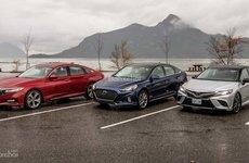 Phân khúc sedan hạng D năm 2018: Liệu có phá vị thế số 1 của Toyota Camry?