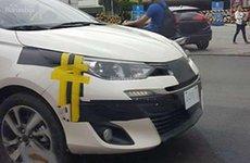 Toyota Vios thế hệ mới chạy thử trên đường phố Philippines