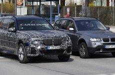 Lộ diện hình ảnh chạy thử 'đồ sộ' của BMW X7 2019