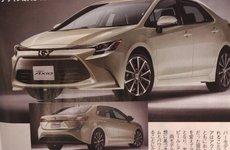 Toyota Corolla Axio thế hệ mới lộ ảnh và thông số mới nhất