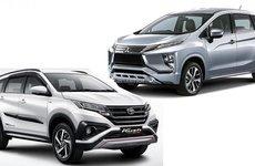 Mitsubishi Xpander và Toyota Rush có giá chỉ từ 313 triệu đồng trước khi nhập về Việt