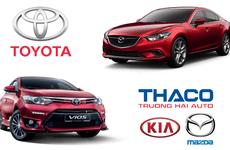 Thêm loạt xe nhập giá mềm, Toyota vẫn khó lật đổ Thaco năm 2018