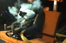 Ghế trẻ em tích hợp túi khí đầu tiên trên thế giới chính thức ra mắt tại Anh
