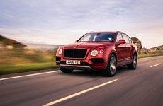 Bentley Bentayga V8 mới thẳng tiến triển lãm Bắc Kinh 2018