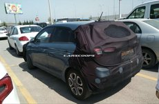 Hyundai i20 Facelift lộ ảnh chạy thử, che chắn mỏng manh