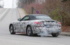BMW Z4 2019 mui trần bị phát hiện chạy thử ở Magna Steyr