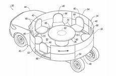 Xe Ford trong tương lai sẽ có dạng bàn tròn?