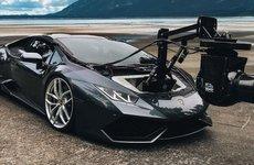 Lamborghini Huracam: Siêu xe độ máy quay phim độc nhất thế giới