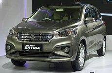 Ảnh chi tiết MPV giá rẻ Suzuki Ertiga 2018 hoàn toàn mới tại Indonesia