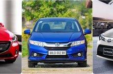 600 triệu đồng, chọn xe sedan hạng B lắp ráp nào: Accent, Vios, City hay Mazda2