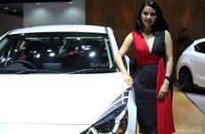 Ngắm dàn chân dài tại triển lãm ô tô Indonesia IIMS 2018