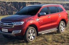 Rò rỉ: Ford Everest 2018 dùng động cơ 2.0L Bi-Turbo và hộp số 10 cấp mới