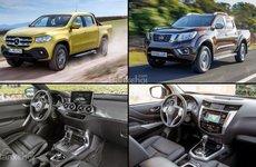 Những điểm khác biệt giữa Mercedes-Benz X-Class và Nissan Navara
