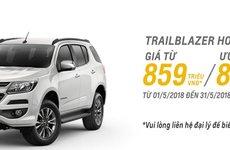 Chevrolet Trailblazer ưu đãi 80 triệu đồng trong tháng 5/2018 tại Việt Nam