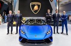 Lamborghini Huracan Performante Spyder trình diện khách hàng châu Á