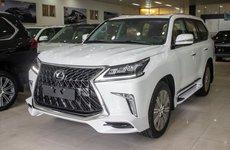Xế sang Lexus LX570 Super Sport về Việt Nam với giá gần 10 tỷ đồng có gì hấp dẫn?