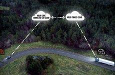 Xe hơi và xe tải Volvo giờ đã có thể chia sẻ thông tin giao thông với nhau