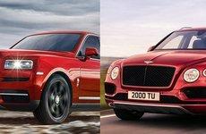 So sánh Rolls-Royce Cullinan 2019 và Bentley Bentayga 2018 về hiệu năng và giá bán