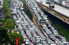 Kinh nghiệm lái xe ở Hà Nội cho tài mới