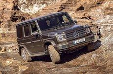Từ tháng 12 tới, Mercedes G-Class có thêm tùy chọn động cơ diesel