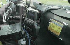 Chevrolet Silverado HD 2020 lần đầu lộ diện hình ảnh nội thất