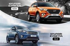 Hyundai Creta 2018 đời mới và cũ khác nhau như thế nào?