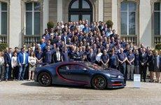 Bugatti Chiron xuất xưởng chiếc xe thứ 100