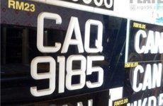 Việt Nam có nên học tập Malaysia về việc bán biến số ô tô trực tuyến?