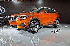 SUV cỡ nhỏ Kia SP Concept phiên bản sản xuất sẽ có tên Kia Trazor ?