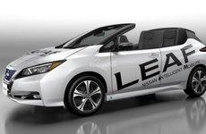 'Vừng ơi mở ra', Nissan Leaf Open Car bật nắp hóa mui trần