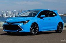 Toyota Corolla 2019 hatchback công bố giá bán từ 19.990 USD