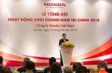 Tổng kết 2 quý đầu năm, Honda Việt Nam tăng trưởng vượt trội