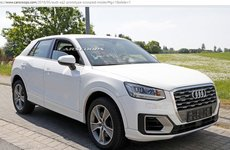 Audi SQ2 mới lộ diện cả nội ngoại thất