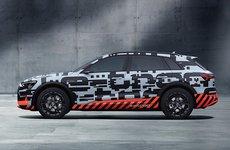 Xe điện Audi E-Tron sử dụng camera thay cho gương chiếu hậu truyền thống