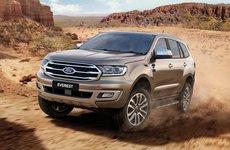 Ford Everest 2018 mới bán ra thị trường Việt vào tháng 9 tới có giá tạm tính từ 900 triệu
