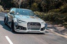 Audi RS6 độ hầm hố ngang xe đua DTM