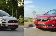 Đều là xe giá rẻ thế hệ mới - Chọn Honda Amaze hay Ford Freestyle 2018?