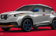 Nissan Kicks 2018 bổ sung gói trang bị Color Studio, khoe sắc rực rỡ