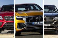 Chọn Audi Q8 2019 hoàn toàn mới, BMW X6 hay Mercedes GLE Coupe?