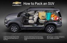 Kinh nghiệm xếp đồ trên xe SUV được nhiều, gọn mà an toàn khi về quê ăn Tết
