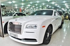 Rolls-Royce Wraith hàng chục tỷ từng là xế cưng của ông trùm cafe