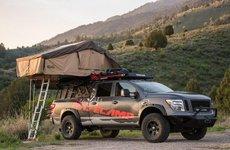 Nissan Armada độ bản cắm trại cực chất dành cho dân off-road