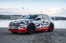 Suv điện e-tron mới của Audi sắp được giới thiệu vào tháng 8/2018