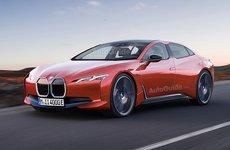 Phác họa BMW i4 phiên bản sản xuất