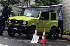 Mẫu SUV Suzuki Jimny 2019 lộ diện cả nội ngoại thất, chuẩn bị ra mắt
