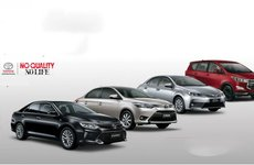 Tháng 5/2018: Doanh số Toyota Vios, Innova, Altis, Camry tăng mạnh 'không tưởng'