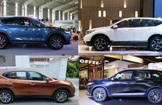 Crossover bán chạy nhất tháng 5/2018: Honda CR-V lại cán đích sau Mazda CX-5