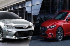 Top xe sedan hạng D bán chạy nhất tháng 7: Camry hoàn toàn áp đảo Mazda 6