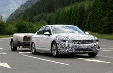 Volkswagen Passat 2019 facelift chạy thử với đầu xe chỉnh sửa nhẹ