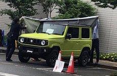 SUV Suzuki Jimny hiện nguyên hình qua loạt ảnh chụp trộm tại nhà máy
